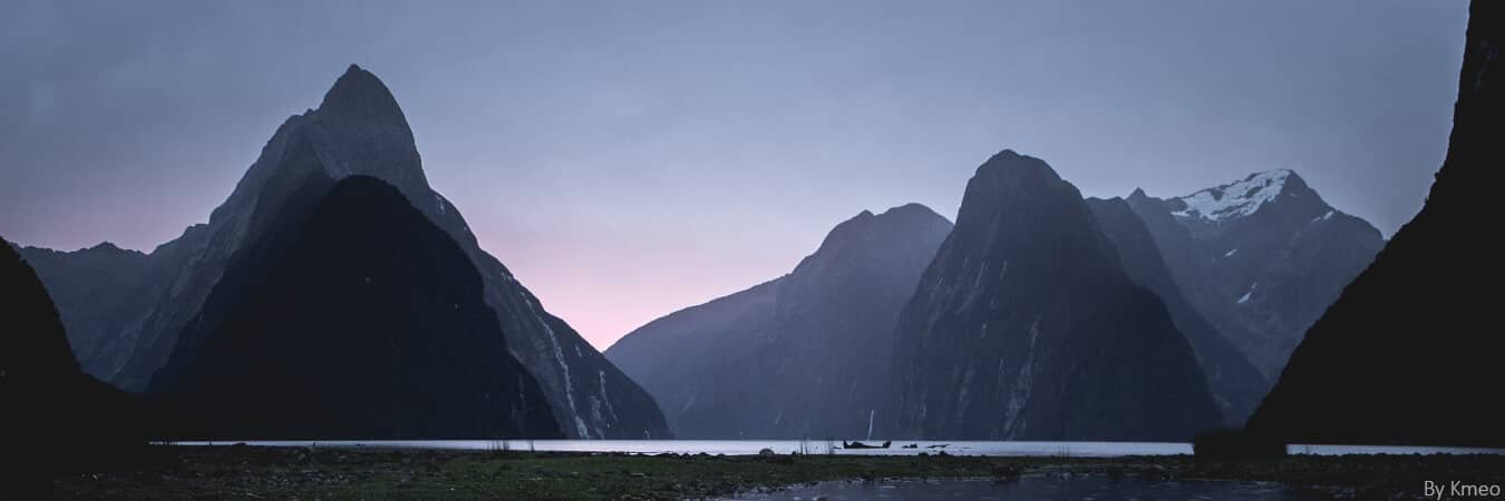 cover - The milford sound road, the most beautiful road in the world?