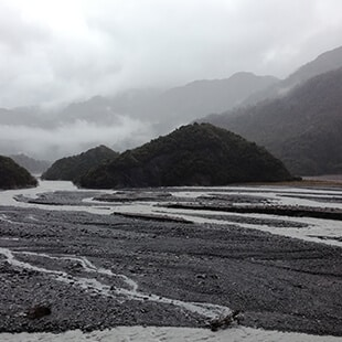 FranzJosephGlacier - The west coast road in New-Zealand ( part 2 )