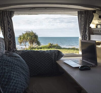 office campervan 1 - All my january pictures, fromAuckland to golden bay