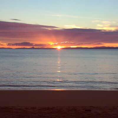 sunset 1 - All my january pictures, fromAuckland to golden bay